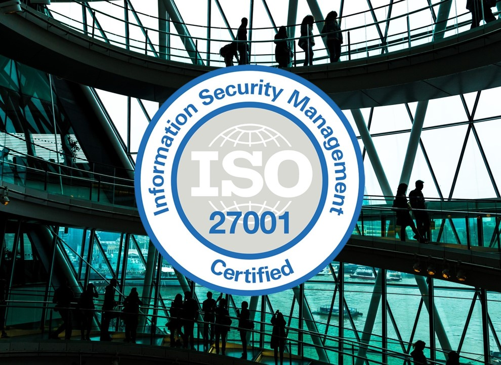 ISO Certificate Image Office Background